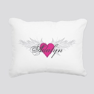My Sweet Angel Adalyn Rectangular Canvas Pillow
