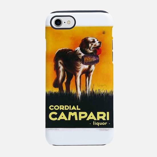 St. Bernard Dog Cordial Campar iPhone 7 Tough Case