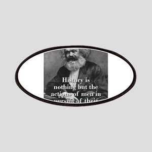 History Is Nothing - Karl Marx Patch