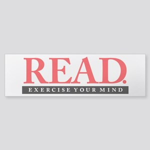 READ. Exercise. Sticker (Bumper 10 pk)