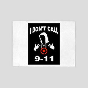 CALL 9-11 5'x7'Area Rug