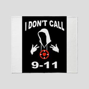 CALL 9-11 Throw Blanket