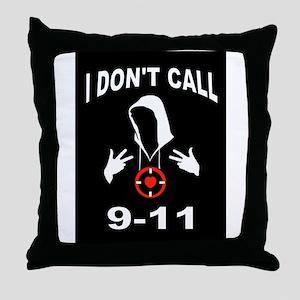 CALL 9-11 Throw Pillow
