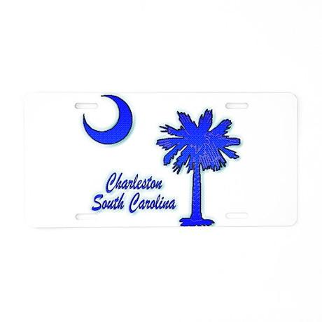 Charleston 2 Aluminum License Plate