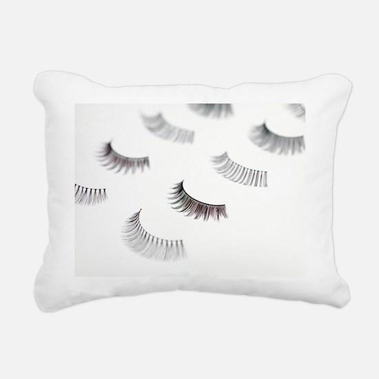 False eyelashes - Rectangular Canvas Pillow