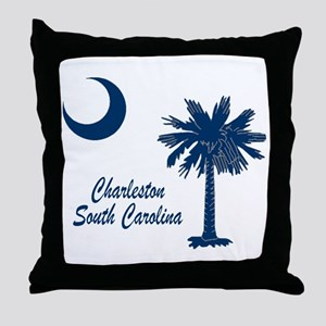Charleston 4 Throw Pillow