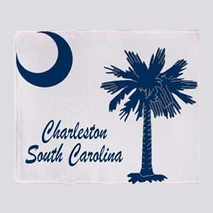 Charleston 4 Throw Blanket