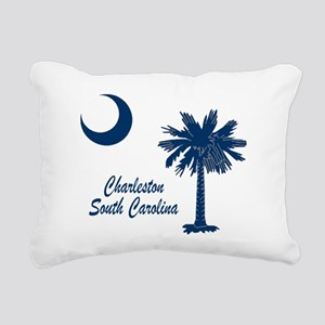 Charleston 4 Rectangular Canvas Pillow