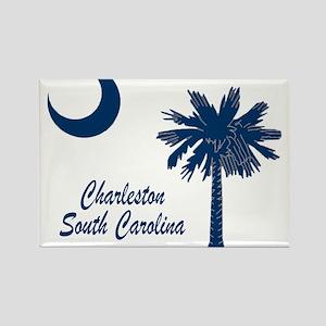 Charleston 4 Rectangle Magnet