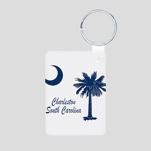 Charleston 4 Aluminum Photo Keychain