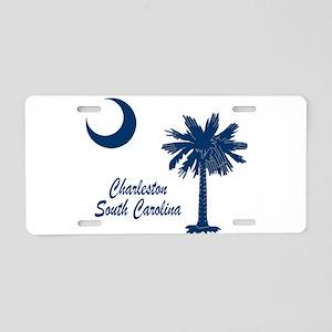 Charleston 4 Aluminum License Plate