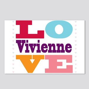 I Love Vivienne Postcards (Package of 8)