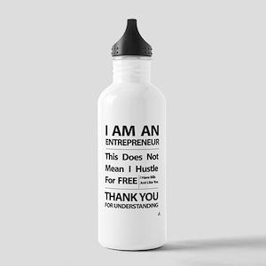 I am an entrepreneur Stainless Water Bottle 1.0L