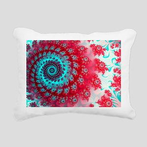 Ju lia fractal - Rectangular Canvas Pillow