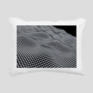 Nanospheres, computer artwork - Rectangular Canvas