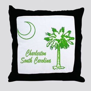 Charleston 7 Throw Pillow