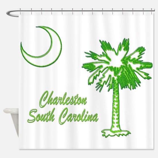 Charleston 7 Shower Curtain