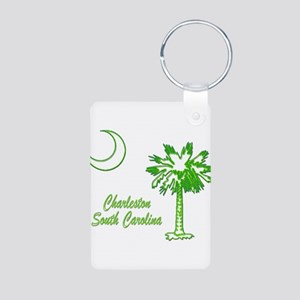 Charleston 7 Aluminum Photo Keychain