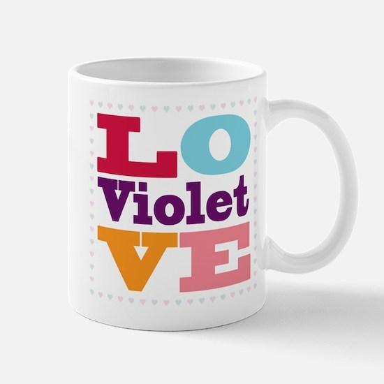I Love Violet Mug