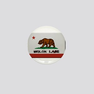 California Flag Molon Labe Mini Button