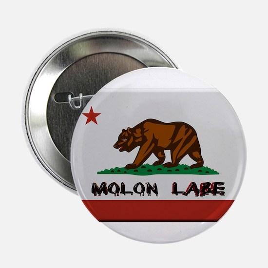 """California Flag Molon Labe 2.25"""" Button (10 pack)"""