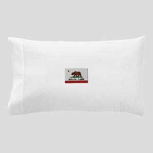 California Flag Molon Labe Pillow Case