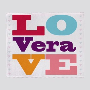 I Love Vera Throw Blanket