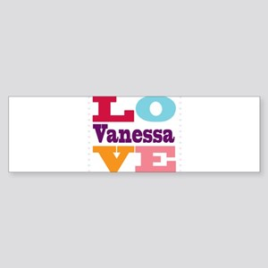 I Love Vanessa Sticker (Bumper)