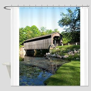 Fallasburg Covered Bridge Shower Curtain