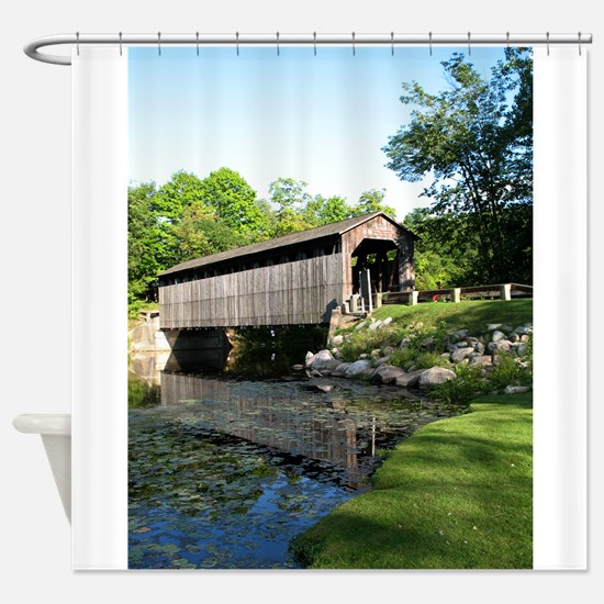 Fallasburg Covered Bridge Shower Curtain
