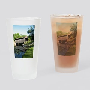 Fallasburg Covered Bridge Drinking Glass