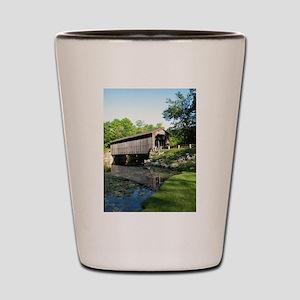 Fallasburg Covered Bridge Shot Glass
