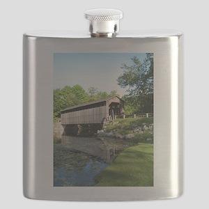 Fallasburg Covered Bridge Flask