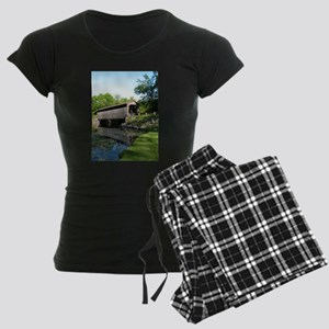 Fallasburg Covered Bridge Women's Dark Pajamas