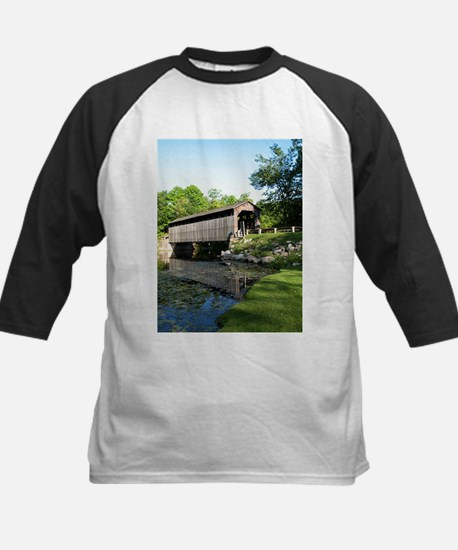 Fallasburg Covered Bridge Kids Baseball Jersey