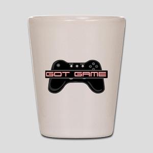 Got Game 2 Shot Glass