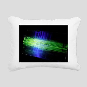 Fluorescent dye penetrant test results - Rectangul