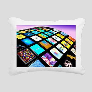 Genetic research - Rectangular Canvas Pillow