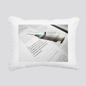 Living will - Rectangular Canvas Pillow