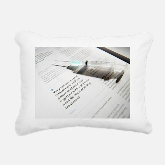 Living will - Rectangular Canvas Pillow