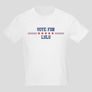 Vote for LULU Kids T-Shirt