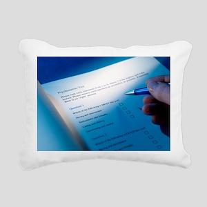 Psychometric test - Rectangular Canvas Pillow