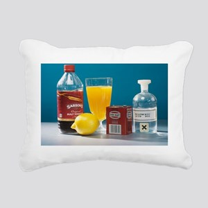 Selection of acids - Rectangular Canvas Pillow