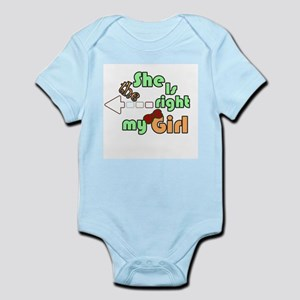 girl Infant Bodysuit