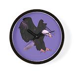 Eagle Landing Wall Clock