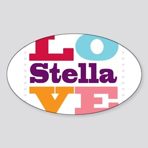 I Love Stella Sticker (Oval)