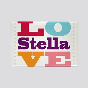 I Love Stella Rectangle Magnet