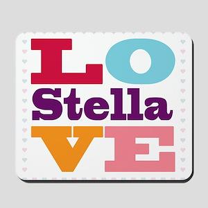 I Love Stella Mousepad