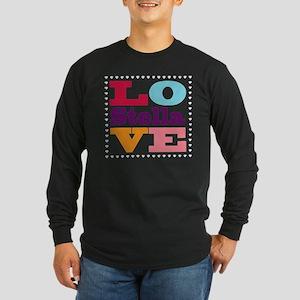 I Love Stella Long Sleeve Dark T-Shirt
