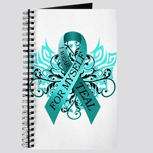 I Wear Teal for Myself Journal